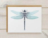 Dragonfly Stationery, Dragonfly Cards, Blank Cards, All Occasion Card, Notecards, Stationary, Art Cards, Blank Thank You Cards, Set of 10