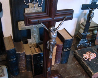 Antique 1920's French Cross