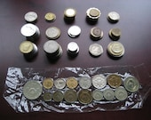 Vintage Foreign Coins From 18 Countries One Pound Seven Ounces