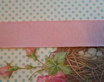 """Grosgrain Candy Pink 1"""" width 5 yds"""