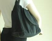 NEW YEAR SALE 30% - Fortuner in Black (Water Resistant) Purse / Laptop / Shoulder bag / Messenger Bag / Women / Handbag / Wallet / Diaper Ba