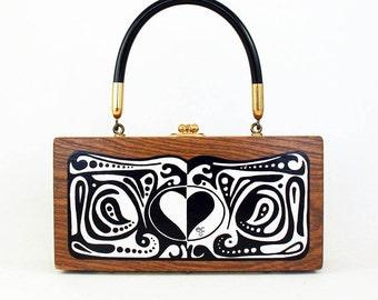 "Enid Collins of Texas ""LOVE"" box bag"