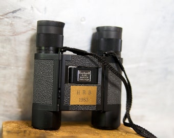 Vintage Bushnell Folding Binoculars with Box