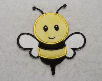 Bumble Bee - MADE to ORDER - Choose SIZE - Tutu & Shirt Supplies - Iron on Applique Patch 7503
