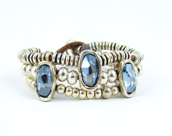 Boho Style Gypset Bracelet Cosmic Swarovski Leather Bracelet multi layer leather bracelet