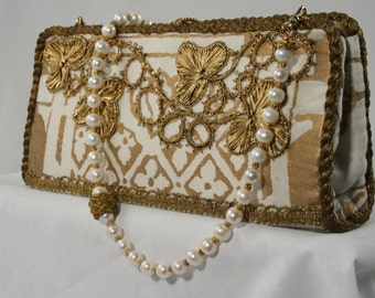 Fortuny Wedding Clutch