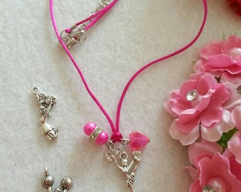 10 Cheerleader  Necklaces Party favors