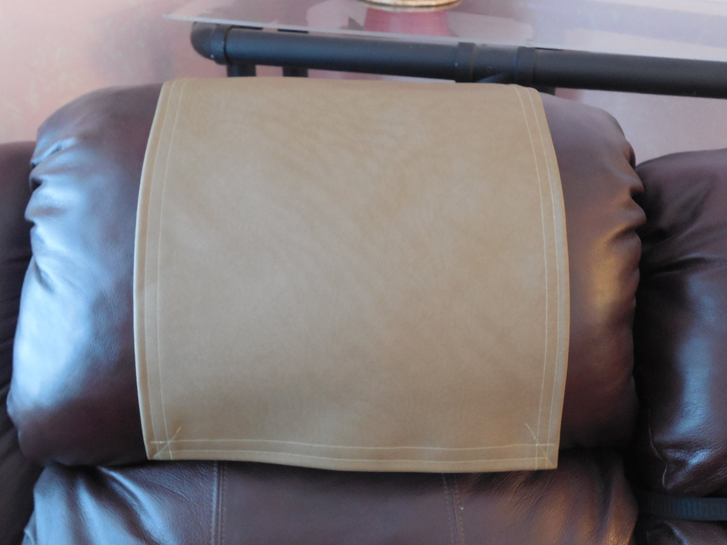 Chair Cap Headrest Pad Recliner Head Cover Furniture