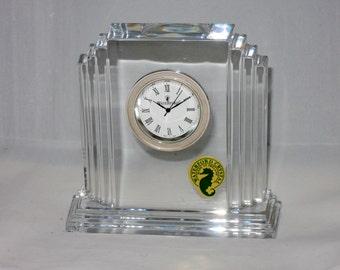 Vintage Small Metropolitan Waterford Crystal Clock