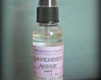 Lavender Anise Essential Oil Spray