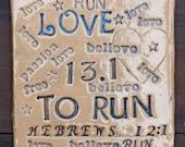 Reserve listing for Samuel L, Marathon Gifts, Half Marathon, Gifts For Runners,  Half Marathon Gift, Running Gift, Ceramic Tile Coaster,