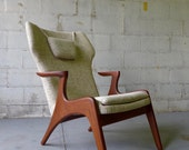 Adrian PEARSALL styled mid century Lounge Chair