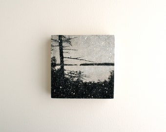Snowfall - Mixed Media