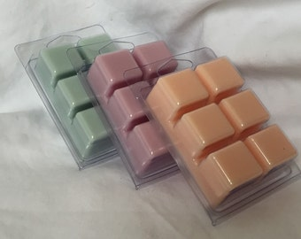 Choose your scents, 3 pack Wax Melts
