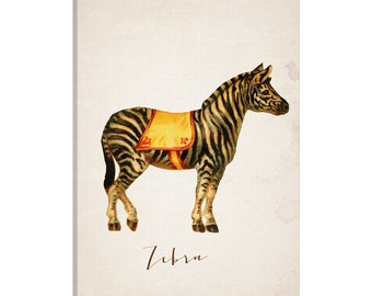 iCanvas Circ IV Gallery Wrapped Canvas Art Print by Natasha Westcoat