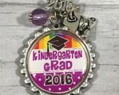 Kindergarten Grad Gift, 2016 Grad, First Grade Bound, K5 graduation Gift, Kindergarten Graduate, Daughter, Classmate Gifts, End of School