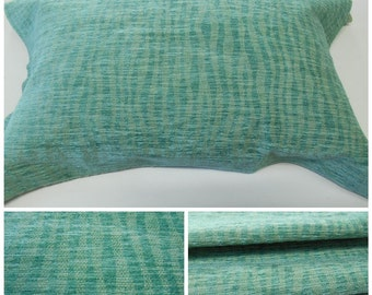 Lee Jofa GWF-Solarium -Aqua  Contemporary Indoor-outdoor Upholstery Fabric- French Chenille Outdoor Fabric-Upholstery fabric
