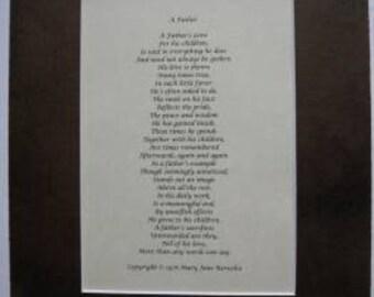 A Father (original poetry)