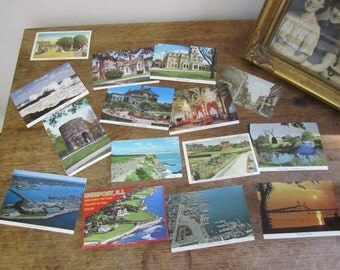 Collection of 30 + vintage postcards. Rhode Island. Newport, Houses, animals teddies.... more Scrapping