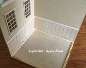 DIY Roombox Diorama Kit for Playscale Blythe Barbie
