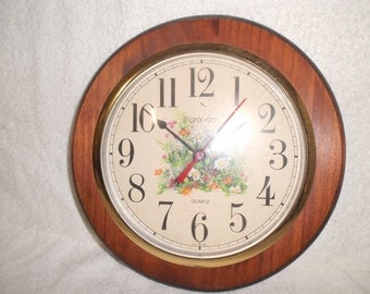 Lovely Vintage Wall Clock
