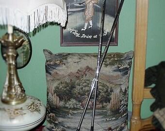 "Vintage Walter Hagen Mid-Century Golf  ""HAIG-ULTRA Contour Sole 8 & 6 Irons Sports Equipment"