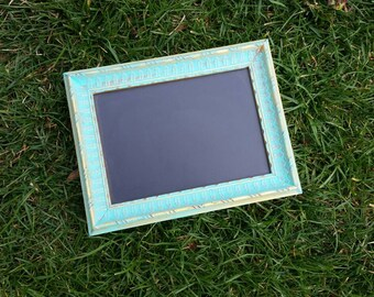 Aqua-  Chalkboard frame -Photo prop