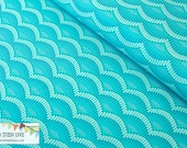 Aqua Mermaid Scales from Michael Miller's Into The Deep by Patty Sloniger