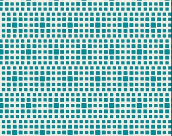 Teal Squares From Art Gallery's Squared Elements - Choose Your Cut