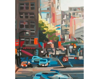 Fine Art Print of Downtown Vancouver by Joanne Hastie