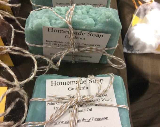 Homemade Gardenia Soap