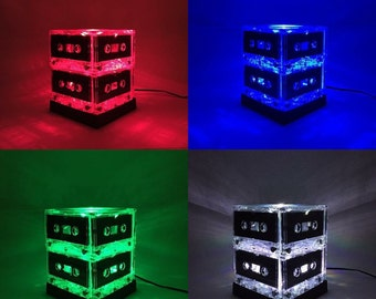 Color-changing Mixtape Light Cassette Tape Lamp