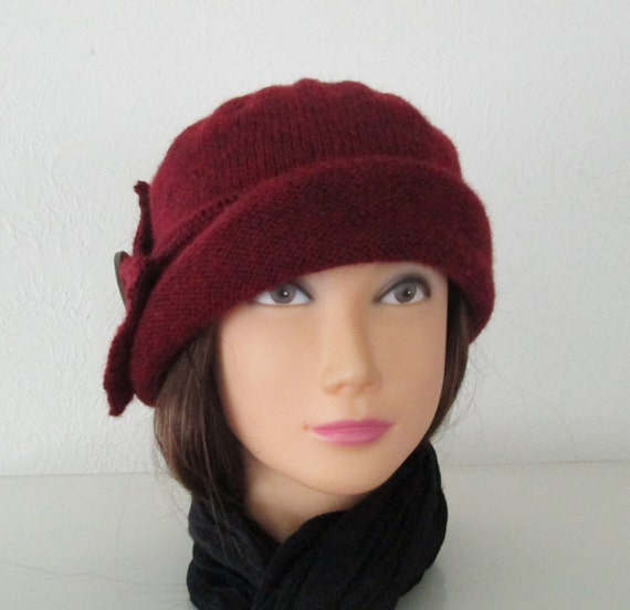 Knitting Pattern PDF Cloche Lady Mary Hat Downton by SwanAvenue
