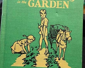 Wonderful Vintage Garden Book for Children
