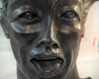 Face Sculpture: Hello Out There