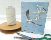 Flying Seagulls Gift Wrapping Paper - seaside, summer, Dad, Father's Day