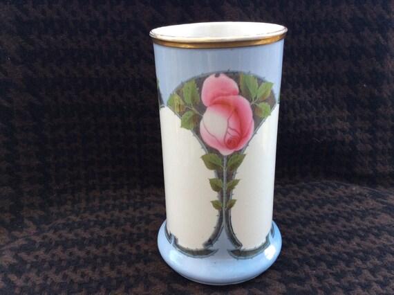 antique villeroy boch mettlach a early art nouveau vase. Black Bedroom Furniture Sets. Home Design Ideas