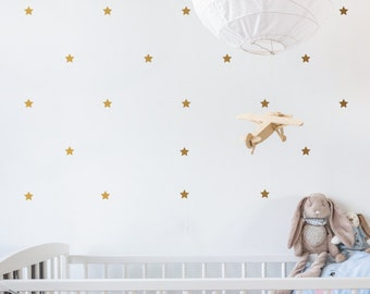 Mini Stars | Removable Wall Decal & Sticker for Home, Office, Nursery | LSB0234VCC-S