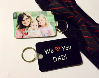 Custom photo keychain- personalized purse tag, stocking stuffer, holiday gifts, monogrammed keychain, photo/text keychain, unisex gifts
