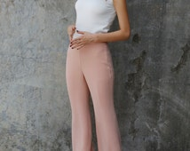Sexy Chiffon Pants in Nude color - NC752