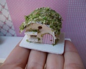 Shabby chic bird house, scale 1.12