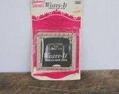 Vintage Weave-It Hand Square Loom by Scovill Hero