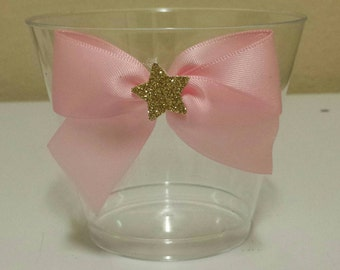 10 Twinkle Twinkle little star 1st birthday party or baby shower nut, candy or dessert cups custom made to match colors