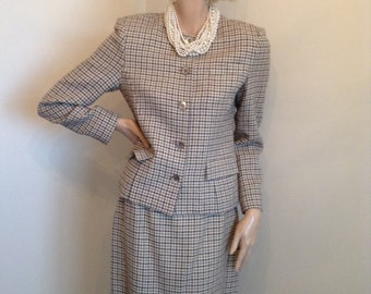 Ports Houndstooth Suit