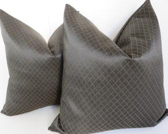 20x20 Black Pillow Cover - Black Geometric Pillow Cover - Pillows - Pillow Covers - Home Decoration - Black Pillows - Decoration