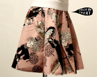 Halloween Skirt Ghastlies