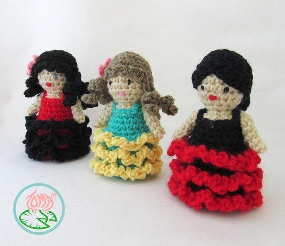Amigurumi Flamenco Dancer