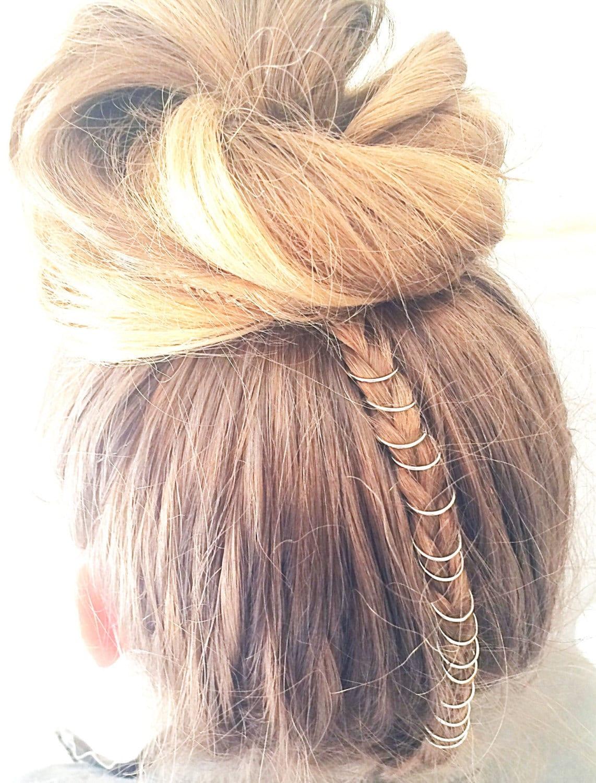 15 Pc Set Boho Hair Rings Hair Jewelry Festival Clothing