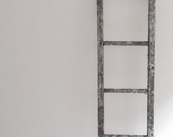 Antique Ladder with Lichins