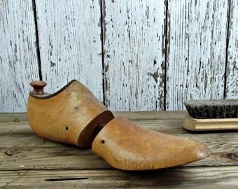 ON SALE Wooden Shoe Form